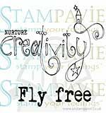 SO: Suzi Blu Clear Stamp - Nurture Creativity