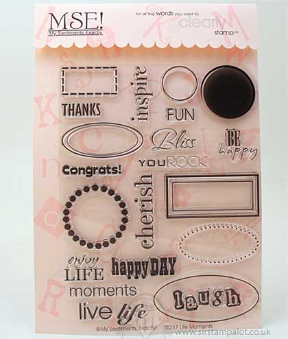 SO: MSE Clear Stamps - Life Moments