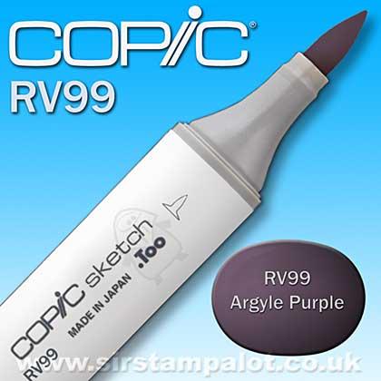 Copic Sketch Pen - Argyle Purple