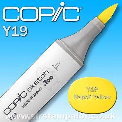 Copic Sketch Pen - Napoli Yellow