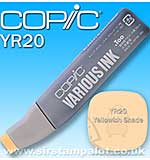 Copic Refill - Yellowish Shade