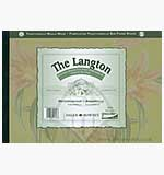 The Langton 10x7 - Extra Smooth Hot Pressed Grain - Watercolour Pad (12 Sheets 140lb)
