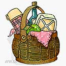 Molly Blooms - Picnic Basket