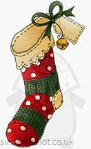 Molly Blooms - Christmas Stocking