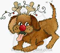 Molly Blooms - Rudog the Rednose Reindeer