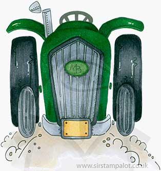 Molly Blooms - Farmyard Tractor