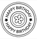 SO: Molly Blooms - Happy Birthday Circle