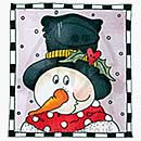 Molly Blooms - Frosty - Festive Frame