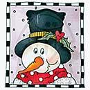Molly Blooms - Frosty - Festive Frame