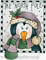 Molly Blooms - Percy - Festive Frame