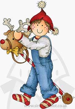 Molly Blooms - Ride-a-Reindeer George