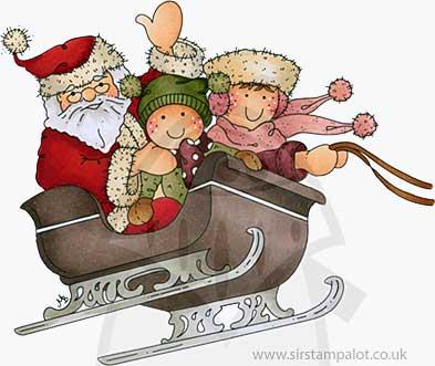 Molly Blooms - Santas Sleigh Ride