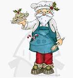 Molly Blooms - Jolly Nice Pies Santa