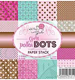 Wild Rose Studio 6x6 Paper Stack - Girly Polka Dots