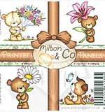 Wild Rose Studio Printed Panels - Milton and Co
