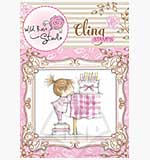 Wild Rose Studio Cling Stamp - Birthday Girl