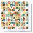 Basic Grey 12x12 - Hopscotch - Four Square