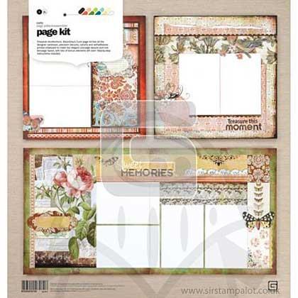 Basic Grey - Page Kit - Curio