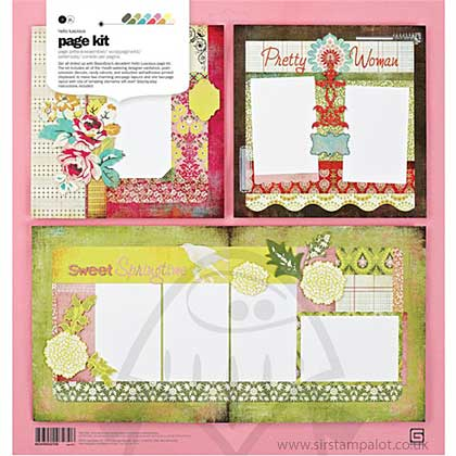 Basic Grey - Page Kit - Hello Luscious
