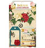 Bo Bunny Juliet Self-Adhesive Layered Chipboard