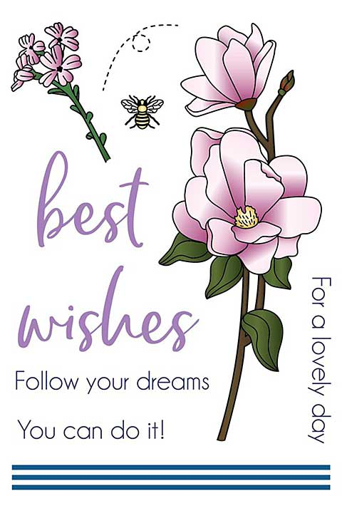 LDRS Creative - Clear Stamps - Magnolia