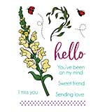 LDRS Creative - Clear Stamps - Snapdragon