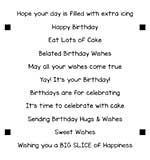 SO: LDRS Creative - Clear Stamps - Happy Birthday