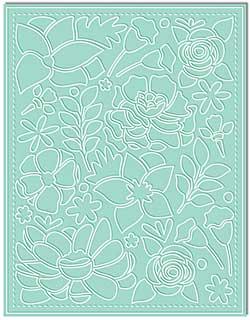 LDRS Creative - Designer Dies - Madison\'s Garden A2 Cover Plate