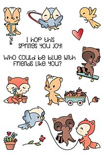 LDRS Creative - Clear Stamps - Friends Like You