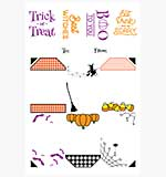 LDRS Creative - Halloween Gift Tag Stack Stamp Set
