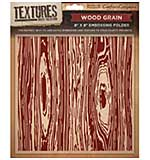 SO: Crafters Companion - Wood Grain Textures (8 x 8 Embossing Folder)