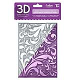 SO: Crafters Companion Regency Swirls 5x7 3D Embossing Folder
