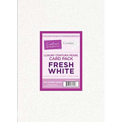 Luxury Centura Pearl A4 - Fresh White - Double-sided 310gsm