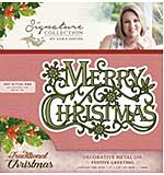 SO: Crafters Companion Traditional Christmas Collection - Festive Greeting Die