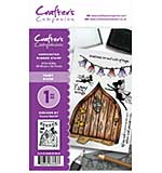 Crafter's Companion - Fairy Door (A6 Unmounted Rubber Stamp)