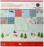 SO: Martha Stewart - 12x12 Paper Pad - Winter Wonderland