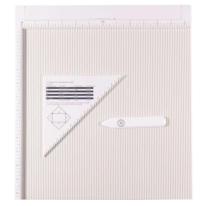 Martha Stewart Scoring board and Envelope Guide, 0.125in Spacing (12 x 12)