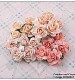 SO: Hobby House Handmade Roses - Peaches & Cream (Large)