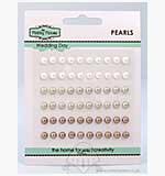 SO: Hobby House Self-Adhesive Pearls - Wedding Day (5mm)