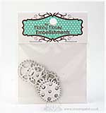 Hobby House Charms - Silver Cogs