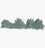 Memory Box Cutting Dies - Pine Needle Border