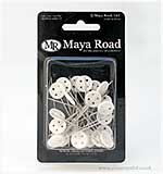 SO: Maya Road Vintage Button Stick Pins