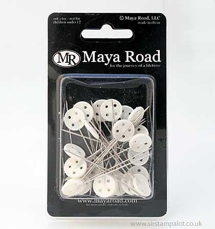 Maya Road Vintage Button Stick Pins