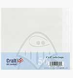 SO: Craft UK Ltd - 6x6 inch Cello Display Bags (50)