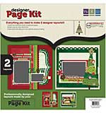 We R Memory Keepers - Designer Page Kit - Peppermint Twist
