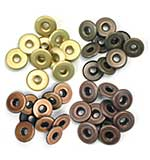 We R Memory Keepers - Wide Eyelets - Warm Metal