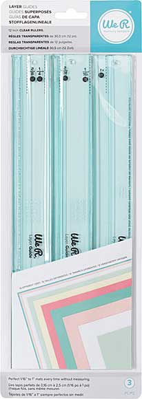 SO: We R Memory Keepers - Layer Cutting Guides (3pk)