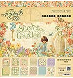 Graphic 45 - 12x12 Paper Pad - Secret Garden