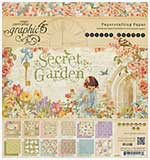 SO: Graphic 45 - 8x8 Paper Pad - Secret Garden
