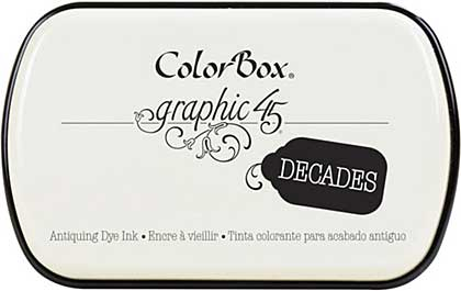 Graphic 45 - ColorBox Decade Ink Pad - Photogenic